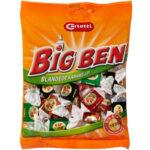 Kalorier i Carletti Big Ben Blandede Karameller