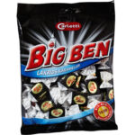 Kalorier i Carletti Big Ben Lakrids Karameller