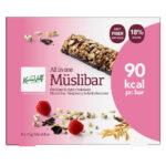 Kalorier i Karen Volf All in One Müslibar Hindbær & Mørk Chokolade