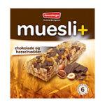 Kalorier i Ravensbergen Muesli+ Chokolade og Hasselnødder
