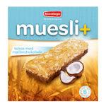 Kalorier i Ravensbergen Muesli+ Kokos med Mælkechokolade