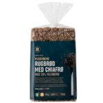 Kalorier i Rema 1000 Rugbrødre Rugbrød med Chiafrø med 33% Fuldkorn