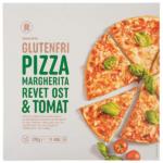 Kalorier i Rema 1000 Glutenfri Pizza Margherita Revet Ost & Tomat