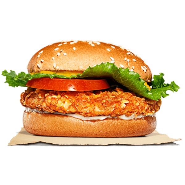 Kalorier i Burger King Chili Cheese Crispy Chicken