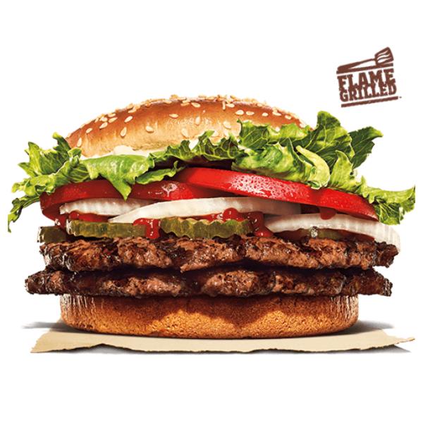 Kalorier i Burger King Double Whopper