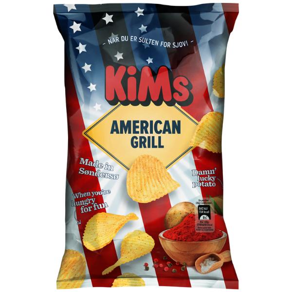 Kalorier i KiMs American Grill