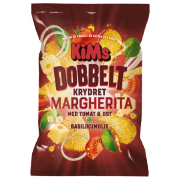 Kalorier i KiMs Dobbelt Krydret Margherita med Tomat & Ost