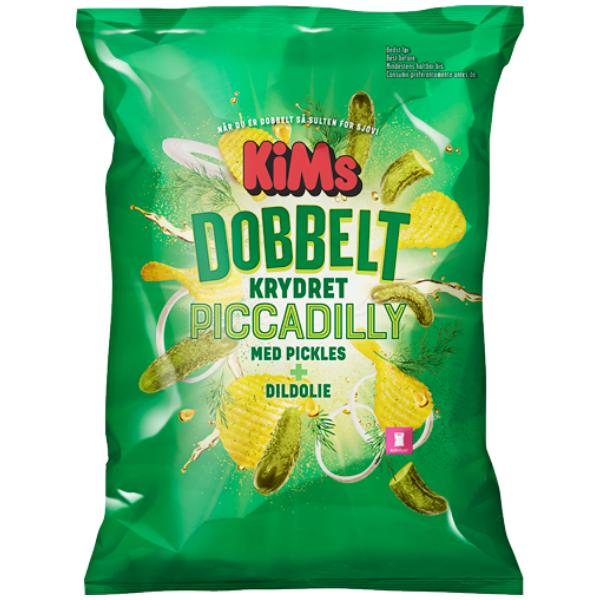 Kalorier i KiMs Dobbelt Krydret Piccadilly med Pickles