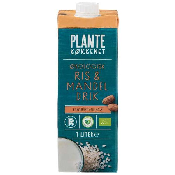 Kalorier i Plantekøkkenet Økologisk Ris & Mandel Drik