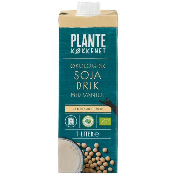 Kalorier i Plantekøkkenet Økologisk Sojadrik med Vanilje