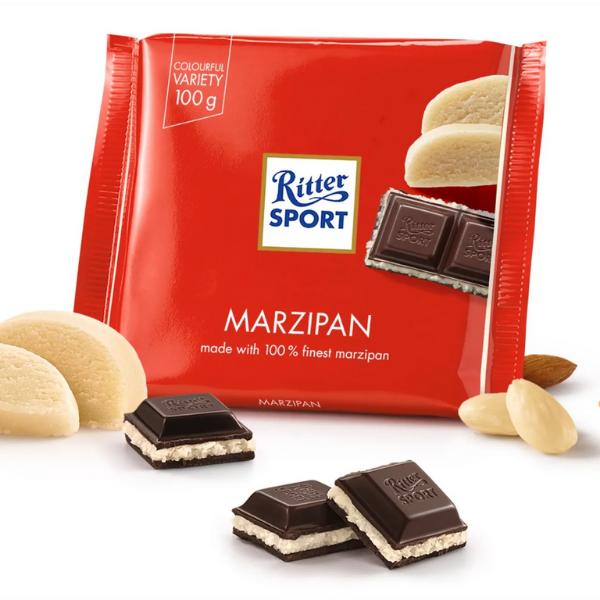 Kalorier i Ritter Sport Marzipan